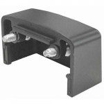 41-0903 Adams Rite End Cap - hinge side (METAL)