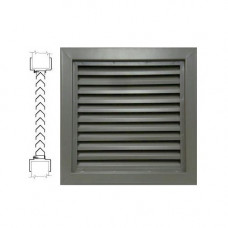 800A1 16 x 12 Air Louvers - Bronze