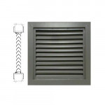 800A1 24 x 12 Air Louvers - Bronze