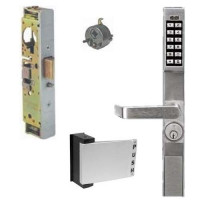 DL1200PPAK Alarm Lock narrow stile lock w/Adams Rite paddle & latch