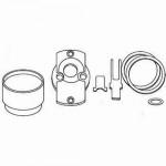 ET-SIC Alarm Lock Schlage I/C Rim Cylinder Adapter Kit