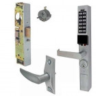 PDL1300LPAK Alarm Lock narrow stile lock with Adams Rite lever & latch