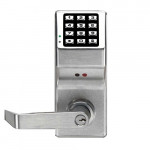 DL2800 Alarm Lock Electronic Pushbutton w/Standard Key Override
