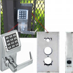 DL2700WP x K-BXSIM Keypad Gate Lock