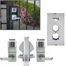 Double Sided Keyless Gate Lock DL5200 x K-BXSIM