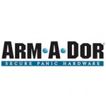 A101-F02 Arm-A-Dor automatic fire rated exit w/ alarm