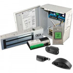 10ACP12F BEA Access Control Package 1200lb Mag Lock & Fly