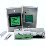 10RESTROOMKIT BEA restroom pushbutton lock control
