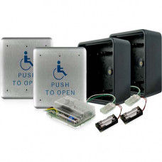 Push Plate Package 45S-900 BEA wireless push button access control