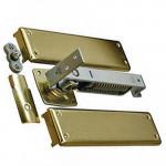 7811 Bommer Horizontal Spring Pivot Hinge w/Floor Plate