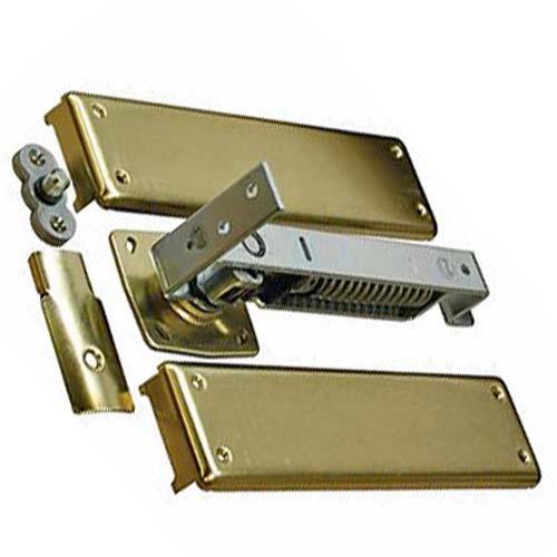NIB Bommer 7811-640 Oil Rubbed Bronze Horizontal Spring Pivot w//floor Plate