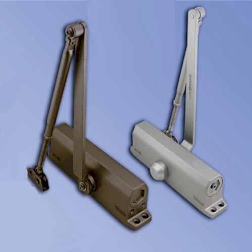 Grade-1 ADA Barrier Free Door Closer Adjustable Size 1-5 /… Cal-Royal 500-PBF Duronotic Finish