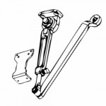 901/902 Cal-Royal Hold Open Arm w/Paralell Bracket