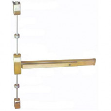 "9860V3684 Cal-Royal surface vertical rod exit device 36"" door 84"" rod"