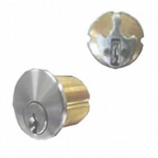 """CMORTCYL118 Cal-Royal Mortise Cylinder 1 1/8"""" Schlage """"C"""" Clove Leaf Cam"""