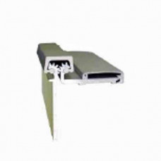 CRHD78 0530 Cal-Royal Continuous Geared Hinge, Half Surface