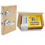 SL00-T220 Cal-Royal Lever Lock-Deadbolt Combo