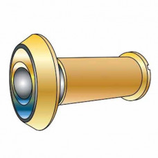 "DV91 Cal-Royal Brass Door Viewer 180°, 1/2"" Bore, 1 3/8"" to 2"" Doors"