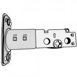 ED500ADJ Cal-Royal Adjustable latch bolt round corner