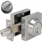 ESQ101 Cal-Royal Square single cylinder residential deadbolt