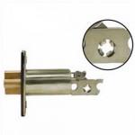 "GL238 Cal-Royal gate latch, double cylinder deadbolt 2-⅜"" backset"