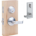 HIL00 Interconnected Entry Lever & Deadbolt