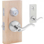 HILAST00 Interconnected Entry Lever & Deadbolt