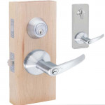 HILMAN00 Interconnected Entry Lever & Deadbolt