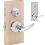 JHILMAN30 Interconnected Passage Lever & Deadbolt