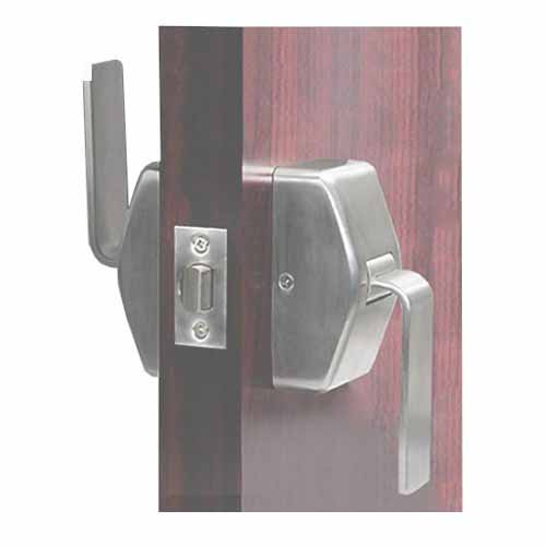 cal-royal hospital push pull latch grade 1 for 1.75 inch doors, HOS-PP30