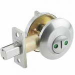 IND84 Cal-Royal Occupancy Indicator Deadbolt, Standard Duty Grade3
