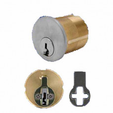KMCL4-4 Cal-Royal Mortise Cylinder, Corbin L1 thru L4 Keyway 6 Pin