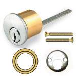 "KRSCE-4 Cal-Royal Rim Cylinder, Schlage ""E"" Keyway 6 Pin"