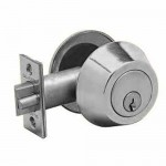 "KWGLT220234 Cal-Royal Gate Latch 2 3/4"" Backset Kwikset Keyway"