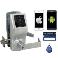 PL7100 Cal-Royal Smart Phone Lock w/Clutch Entrance Key Override