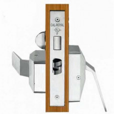 SC8070HL-US26D Cal-Royal Mortise Lock Hospital Latch Heavy Duty Classroom