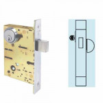 SC8460 Cal-Royal Mortise Deadbolt Heavy Duty, Cylinder &Thumbturn