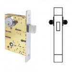 SC8462 Cal-Royal Mortise Deadbolt Heavy Duty Grade 1, Double Cylinder