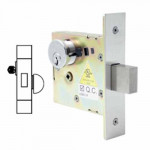 SM4608 Cal-Royal Deadbolt Mortise, Small Case Cylinder/Thumbturn