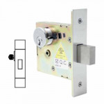 SM4648 Cal-Royal Deadbolt Mortise, Small Case Single Cylinder