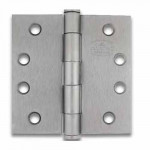 "TBH-30 Cal-Royal Door Hinges Std. Weight Plain Bearing 4 1/2"" X 4 1/2"""