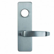 08DS Detex Advantex Wide Stile Outside Lever Trim - Less Cylinder