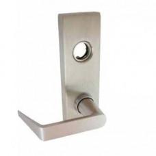 YR08 Dorma Exit Device Trim - Entrance by Lever, Key Locks or Unlocks Trim