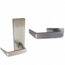 YR23 Dorma Exit Device Trim - Entrance by Lever (no cylinder), Trim Always Active