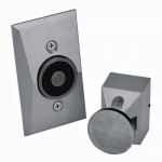 EM504 24120 Dorma Electromagnetic Door Holders - Semiflush Wall Mount