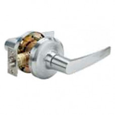 QCL130A Stanley Cylindrical Lever Lock, Passage, Grade 1 - Slate