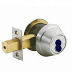 QDB181 Stanley Deadbolt, Single Cylinder, Grade 1 SFIC Less Core