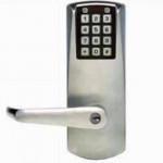 E2031XS Kaba electronic pushbutton lock, Schlage key override