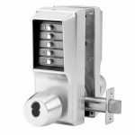 EE1021B/EE1021B Kaba Pushbutton Knob Lock w/Best SFIC Key Override