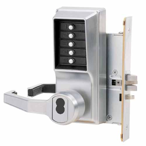 Kaba Mechical Pushbutton Mortise Lock Mortise With 3 4